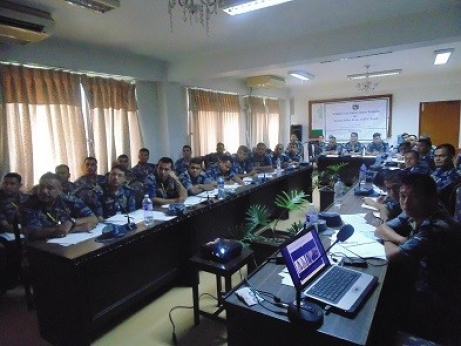 Training organized for Border Security Force