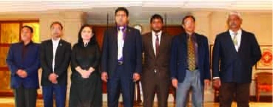 Regional Meeting of  Focal Persons of SAWEN
