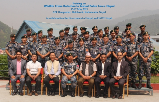 APF Nepal Officials were trained
