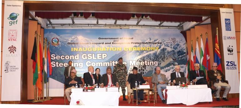 SAWEN co-organizes the Global Snow Leopard Meeting